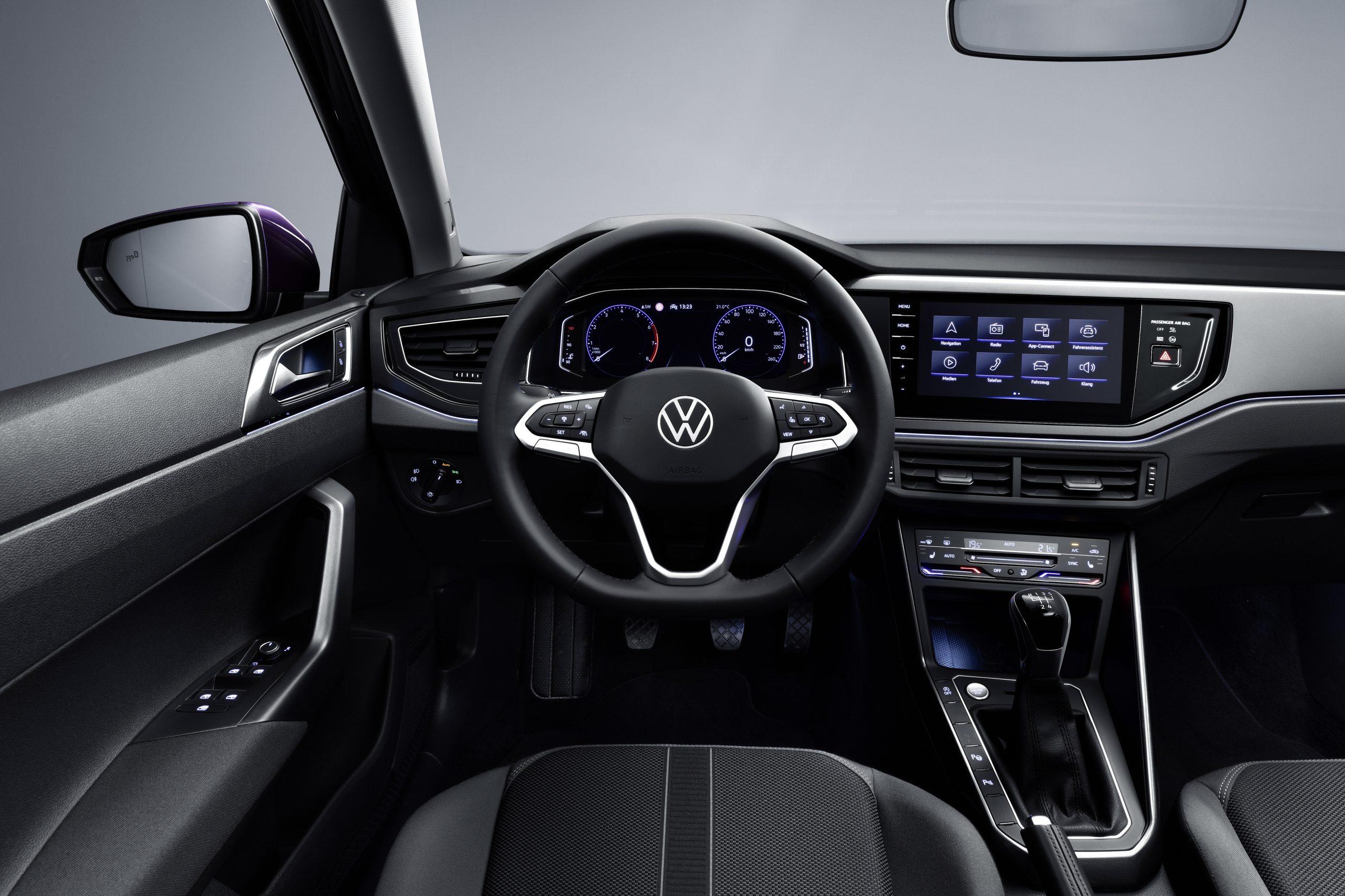 nuova polo volkswagen interni